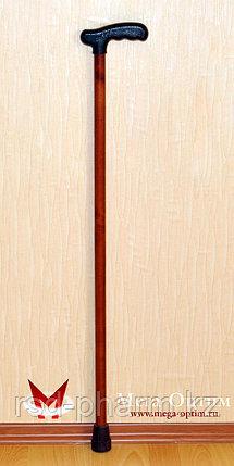 Трость деревянная ИПР-Ш с зимним выдвижным штырем против скольжения, фото 2