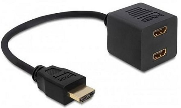"Кабель-сплиттер HDMI ""папа"" - 2 HDMI ""мама"""