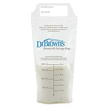 Пакеты для хранения грудного молока  Dr'Browns 180 мл - 25 шт