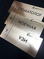 Пластиковые таблички, фото 1
