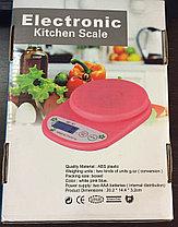 Весы кухонные  Electronic Kitchen Scale (разные цвета), фото 3