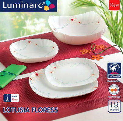 Столовый сервиз Luminarc LOTUSIA FLORESS 19 предметов