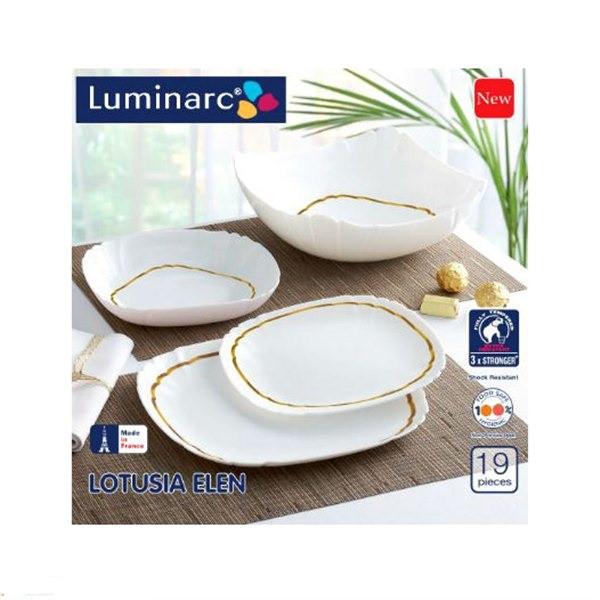 Столовый сервиз Luminarc LOTUSIA ELEN 19 предметов
