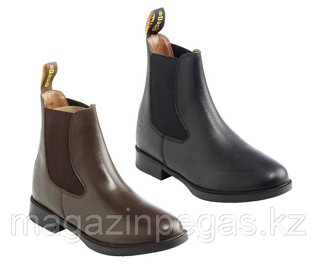 Ботинки Daslo под краги гладкая кожа.