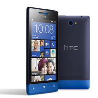 "Смартфон HTC 8S, Win Phone 8, 1GHz/512MB/4GB, 4.0"" LCD, mSD, WiFi/BT/GPS, blue"
