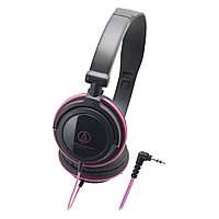 Наушники Audio-Technica ATH-SJ11 BPK 32ohm, 15-22000Hz, 104dB, 1.2m cable, black-pink