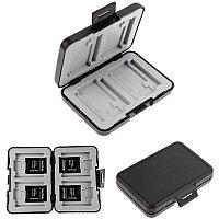 Футляр для хранения 4 Micro SD, 4 SD и 4 CF карты флеш памяти