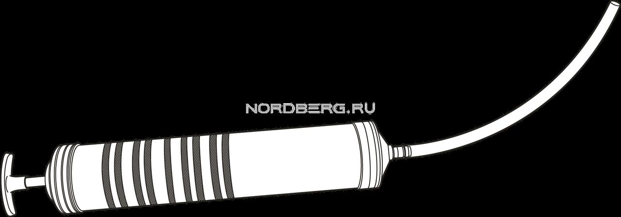 Шприц для заливки масла, 500 мл NORDBERG NО1050