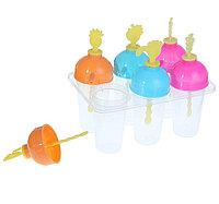 Форма пластиковая цельная для мороженного и фруктового льда фрукты