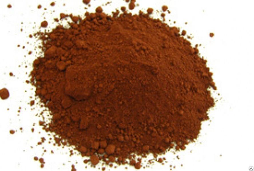 Железоокисный пигмент 686 коричневого цвета