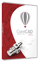 CorelCAD 2016 ML License Media Pack