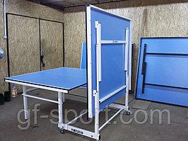 Теннисный стол складной на колесиках
