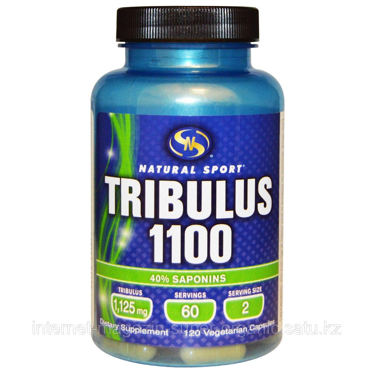 Трибулус 1100 (Tribulus 1100), 120 капсул, Natural Sport