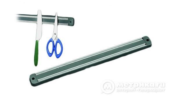 Держатель для ножей магнитный настенный 55см, фото 2