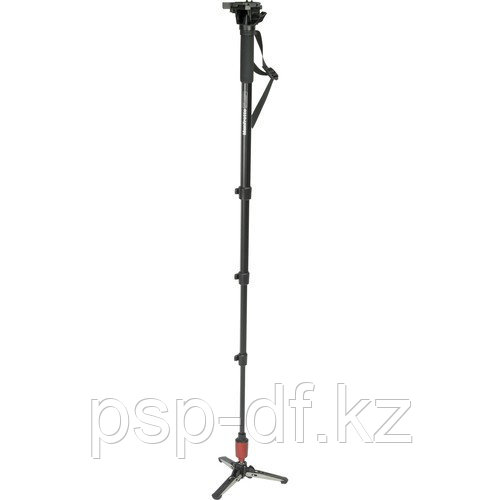 Manfrotto 560B-1 Fluid Video Monopod with Head and Quick Release