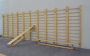 Гимнастическая стенка  деревянная, фото 2