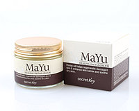 Восстанавливающий крем для лица с конским жиром MaYu Healing Facial Cream Secret Key  50 ml.