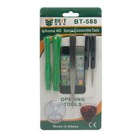 Набор инструментов для ремонта iPhone 4/4S/5/5S/5C/6 BEST BST-588