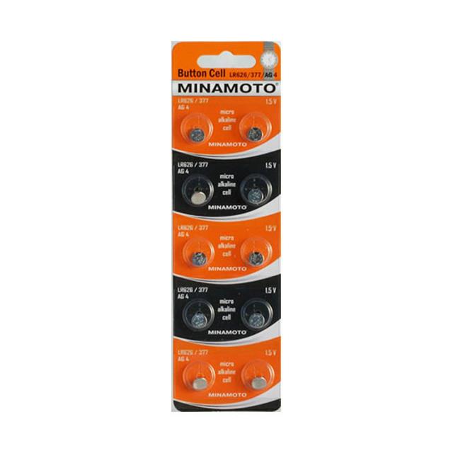Батарейка MINAMOTO AG4, LR626, 377