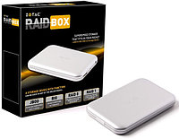 Raid бокс Zotac RaidBox Accessory, Micro USB 3.0, 2хMSATA Slot/RaidBox-UD10, RAIDbox is equipped with mSATA SSD USB 3.0 interfaces. RAIDbox