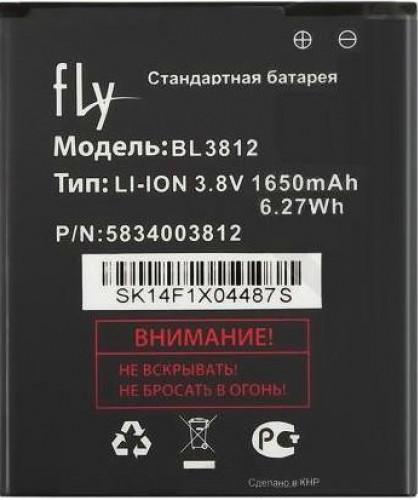 Заводской аккумулятор для Fly IQ4416 (BL3812, 1650 mah)
