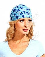 Бандана «БАФФ», голубая, зеленая Buff headwear