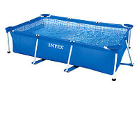 Бассейн каркасный 260х160х65см, V-2282л, Intex Small Frame Pool 28271