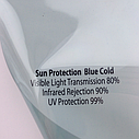 Blue Cold (голубой холод) - атермальная пленка, фото 7