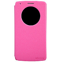 Чехол Nillkin Sparkle leather case для LG G3 D855 (розовый)