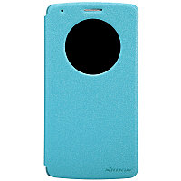 Чехол Nillkin Sparkle leather case для LG G3 D855 (голубой)
