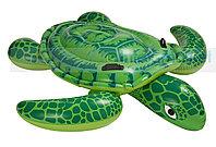 """Надувная детская игрушка-наездник 150х127 см, Intex 57524 """"Морская черепаха"""""""