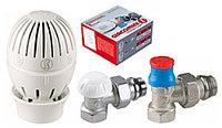 Комплект термостатической регулировки радиаторов прямой/угловой Giacomoni