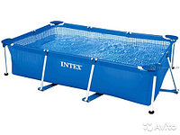 Бассейн каркасный 300х200х75см, V-3834л, Intex Small Frame Pool 28272/58981