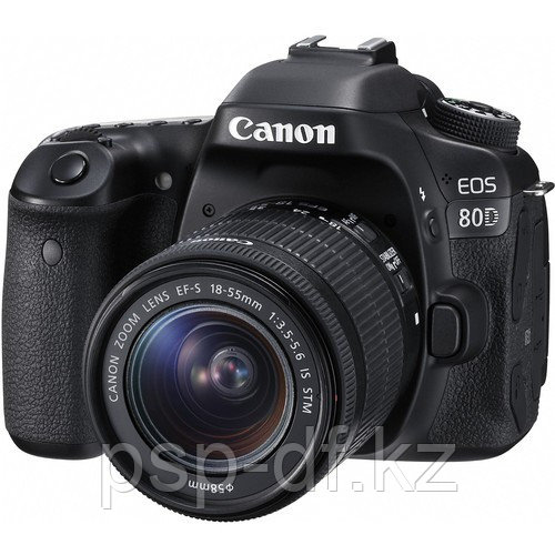 Фотоаппарат Canon EOS 80D kit 18-55mm f/3.5-5.6 IS STM гарантия 1 год