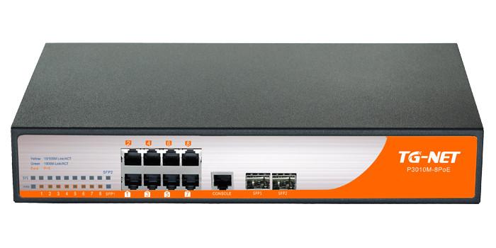Управляемый коммутатор TG-NET P3008M-8PoE-150W