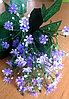 Букетик фиолетовых полевых цветов (искусственный)