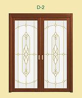 Витражи для межкомнатных дверей, D-2