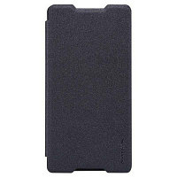 Чехол Nillkin Sparkle leather case для Sony Xperia Z3 D6653 (черный)