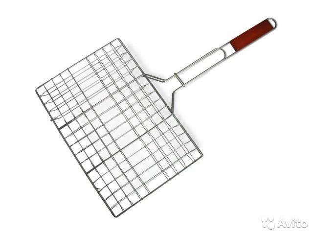 Решетка для гриля и барбекю 23см*34см