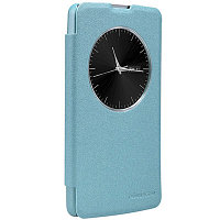 Чехол Nillkin Sparkle leather case для LG L Fino D295 (голубой)
