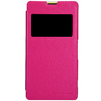 Чехол Nillkin Sparkle leather case для Sony Xperia Z1 Compact(розовый)