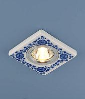 9034 керамика MR16 бело-голубой (WH/BL)
