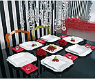 Столовый сервиз Luminarc Authentic White 19 предметов, фото 2