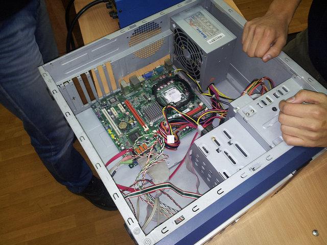Ремонт и наладка компьютеров. 3