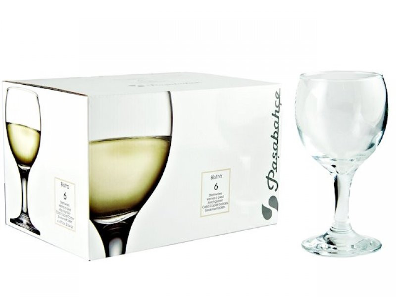 Бокал для белого вина Bistro 44415 175 мл (Pasabahce) 6 шт