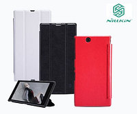 Чехол Nillkin Sparkle leather case для Sony Xperia Z1 Ultra(красный)