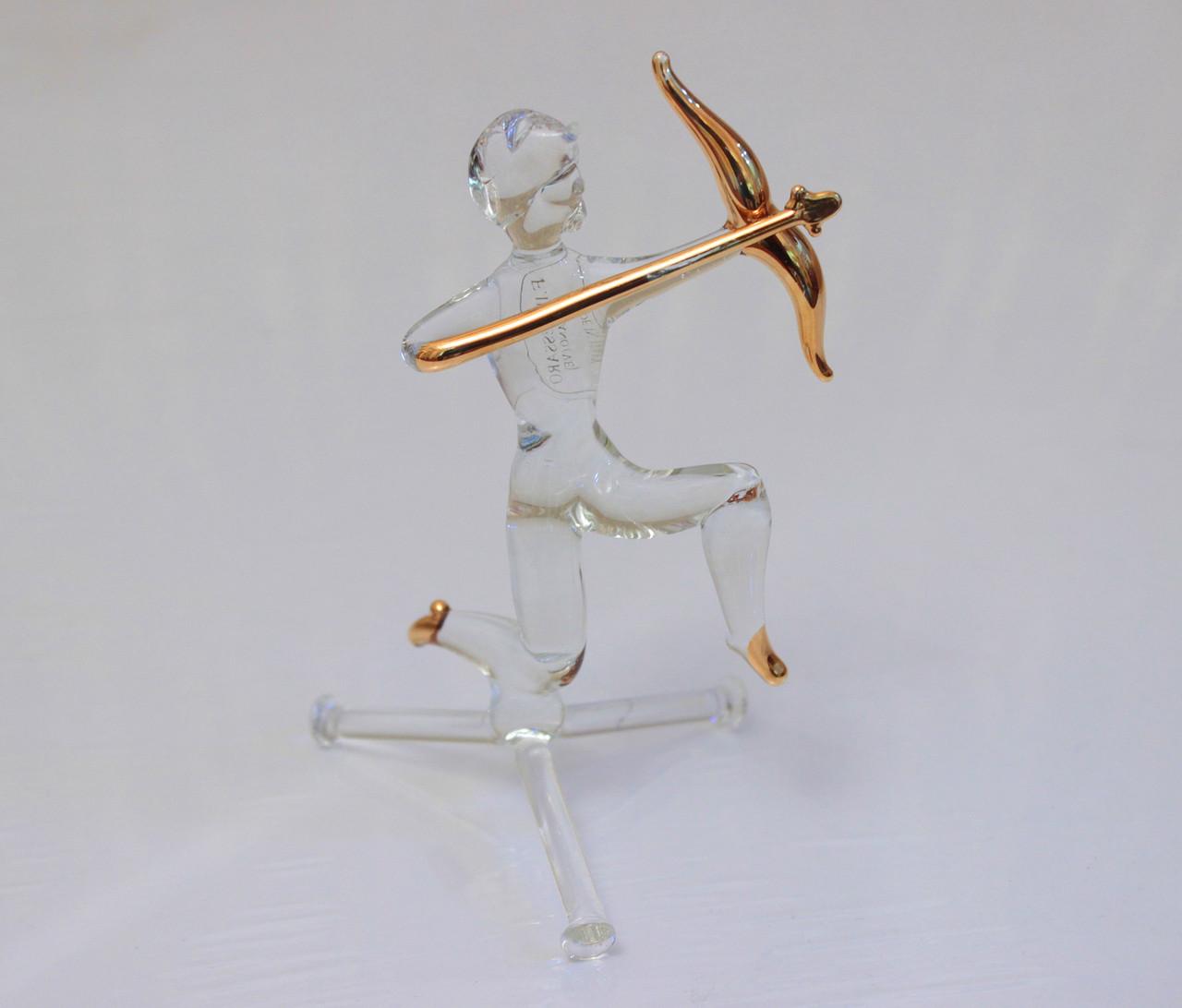 "Сувенир. Знак Зодиака ""Стрелец"". Италия, венецианское стекло"
