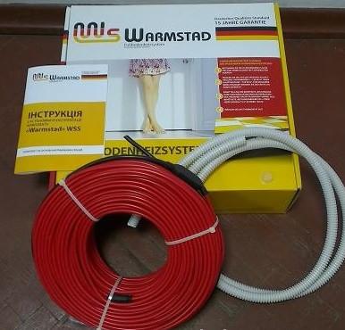 Секция нагревательная кабельная WSS-150 (теплый пол, греющий кабель)
