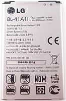 Заводской аккумулятор для LG LS660 (BL-41A1H, 2100mAh)