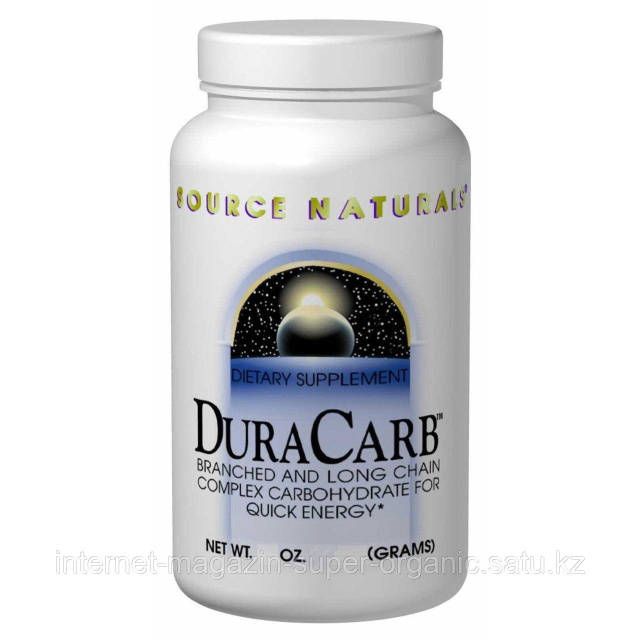 Энергетический напиток (порошок) (Dura Carb), 32 унции (907,2г), Source Naturals